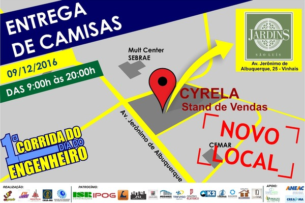 Cartaz entrega kit   nvo local