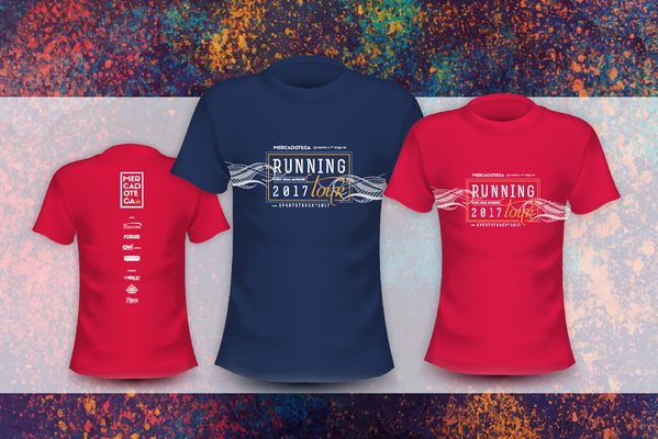 Camisetas l running tour etapa 1