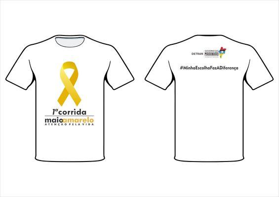 Camisa maio amarelo corrida