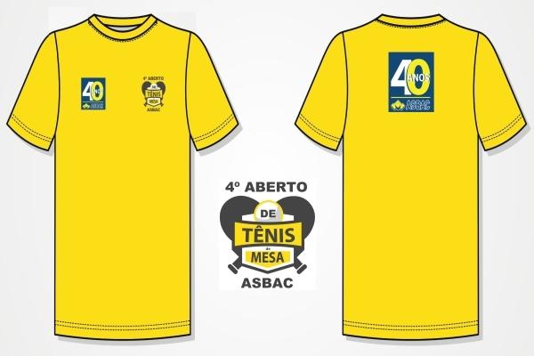 Camiseta 4%c2%ba aberto de t%c3%aanis de mesa da asbac