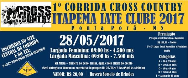 corrida itapema iate clube 2017   prof wilson