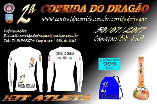 Kit atleta site   corrida do drag%c3%a3o 2017