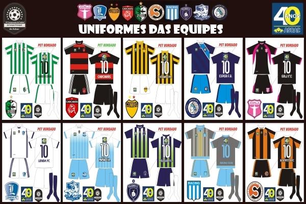 Kit modelo de uniformes 2
