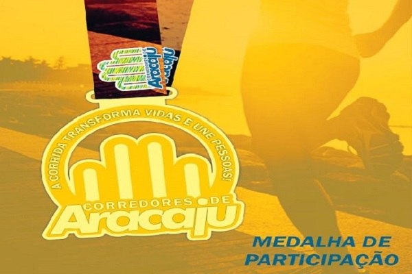 Medalha corredores