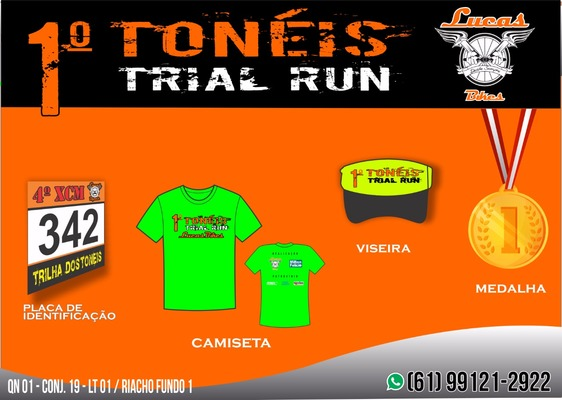Kit toneis trail run