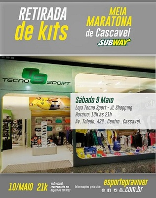 Entrega kits cascavel