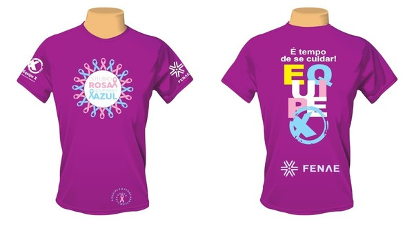 Camiseta outubro rosa 19