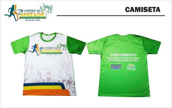 Camiseta do kit