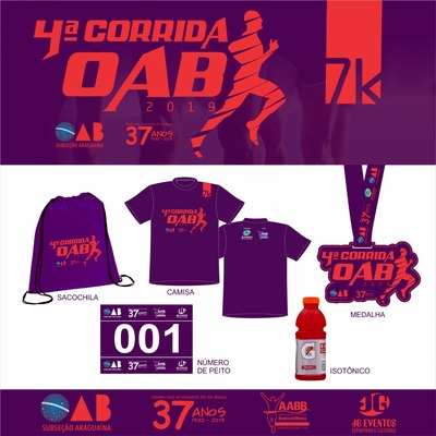 Kit  corrida 2019
