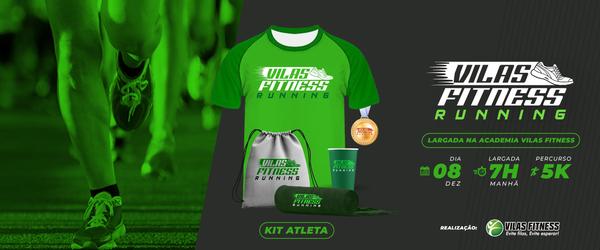 Banner kit atleta corrrida
