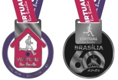 Virtual run medalhas publicar