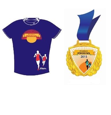 Camisa e medalha por do sol 2015