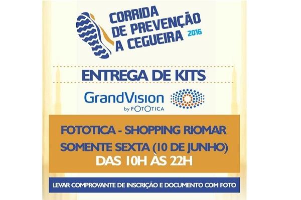 Corrida da prevencao 2016  entrega de kits