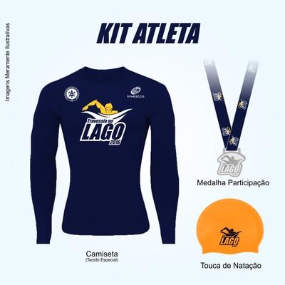 Kit atleta central da corrida