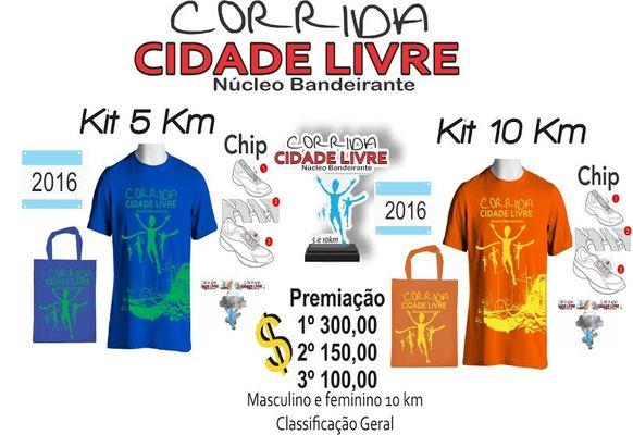 Kit corrida band
