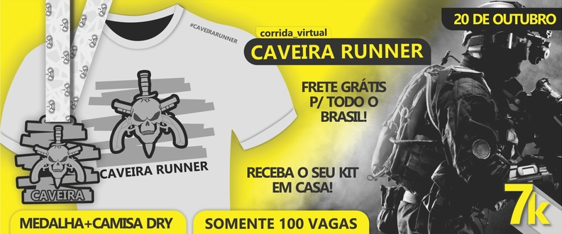 Caveira Runner (Virtual run)