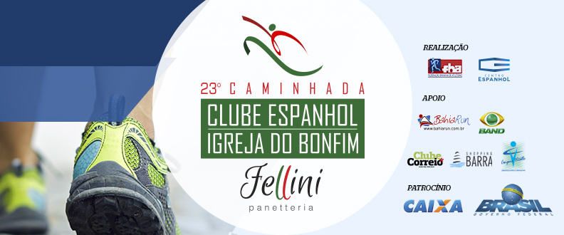 CAMINHADA CLUBE ESPANHOL - IGREJA DO BONFIM