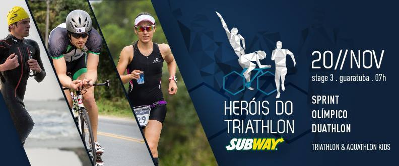Heróis do Triathlon Subway® - ETAPA 3