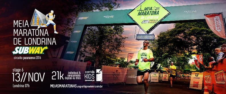 Meia Maratona de Londrina SUBWAY® 2016