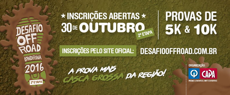 Desafio Off Road 2016 - Etapa 2