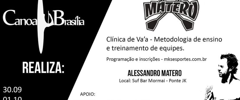Clínica de Va'a com Alexandre Matero