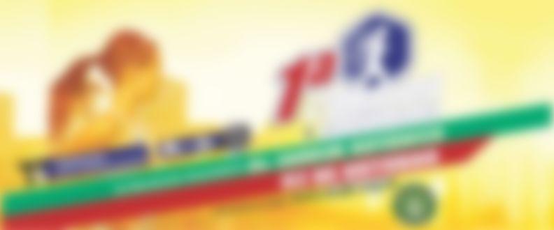 Banner central de corridas