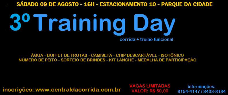 3º Training Day - Parque da Cidade