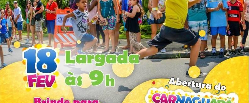 1° Corrida dos Foliões Kids do Carnaguará
