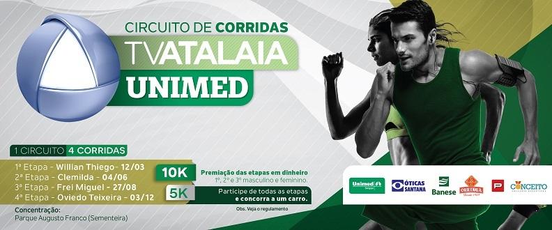 Circuito de Corridas TV ATALAIA UNIMED 2017 - Et 1