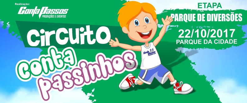 Circuito CONTA PASSINHOS - Etapa Parque Diversões