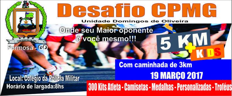 Desafio CPMG 5km 2017