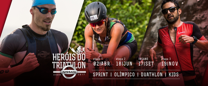Heróis do Triatlhon - ETAPA 1 2017