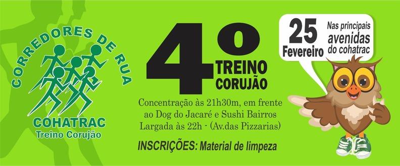 4¨TREINO CORUJÃO (Meia noite ) Cohatrac
