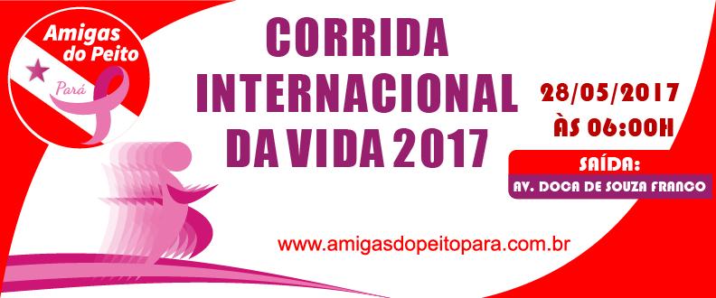 CORRIDA INTERNACIONAL DA VIDA 2017