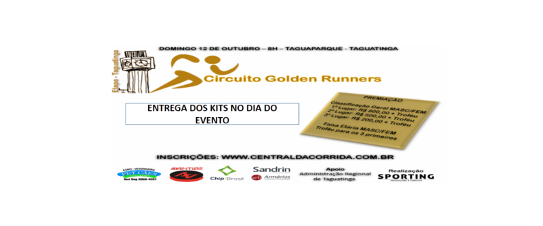 Circuito Golden Runners - Etapa Taguatinga