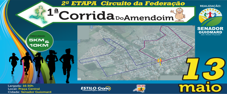 1ª CORRIDA DO AMENDOIM