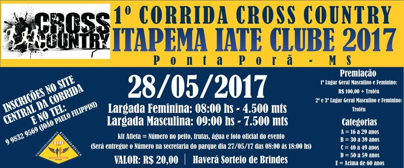 1º Cross Coutry Itapema Iate Clube