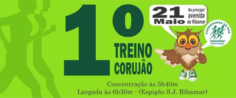 1 TREINO CORUJÃO DE RIBAMAR