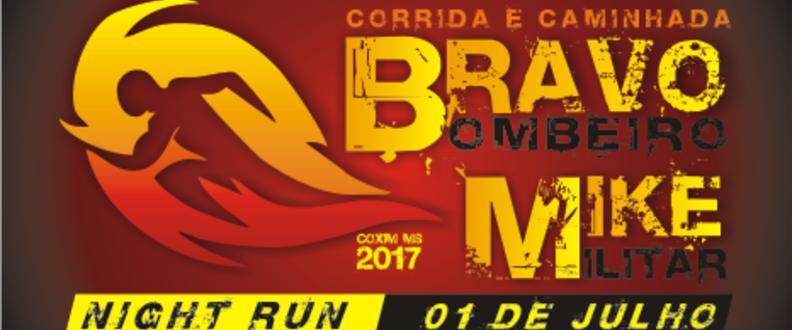 3ª Corrida e Caminhada BRAVO MIKE COXIM
