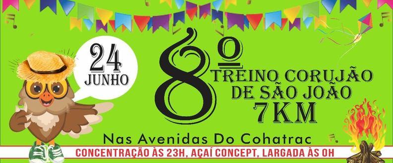 8 TREINO CORUJÃO (São João)
