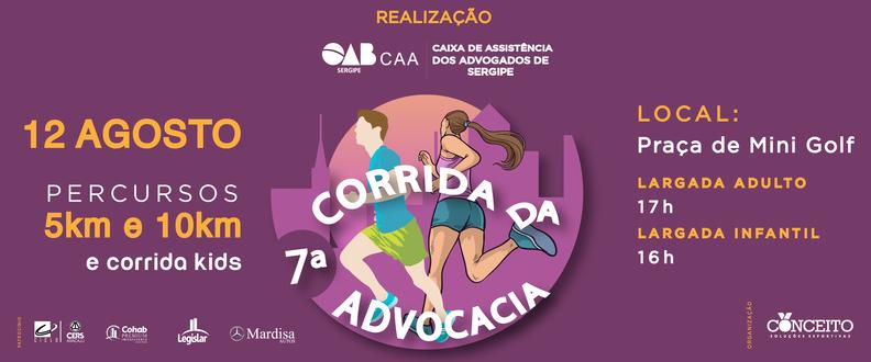7ª CORRIDA DA ADVOCACIA E 2ª CORRIDA KIDS