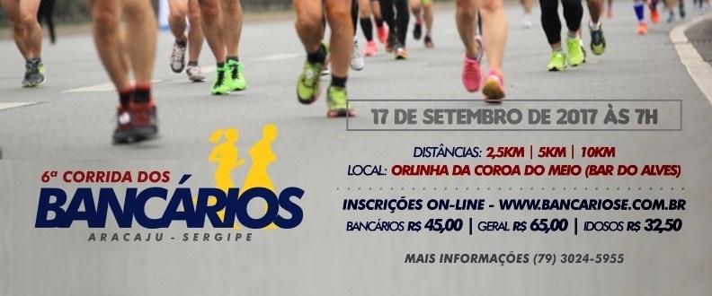 6ª CORRIDA DOS BANCARIOS - 2017