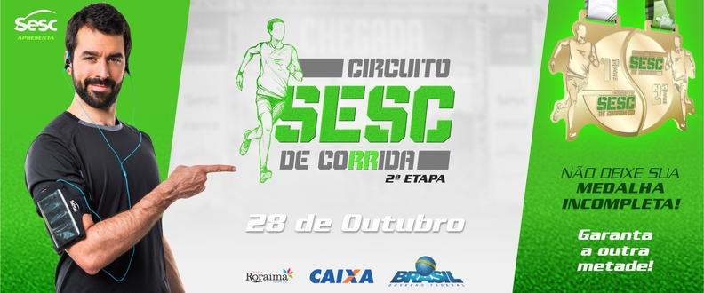 CIRCUITO SESC DE CORRIDA- 2ª Etapa