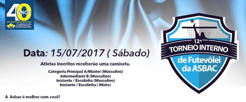 12º Torneio Interno de Futevôlei da Asbac
