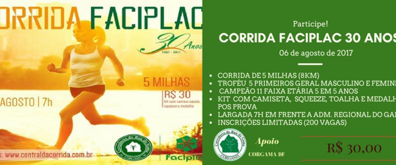 CORRIDA FACIPLAC 30 ANOS