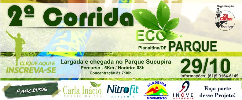 2ª Corrida Eco Parque de Planaltina/DF