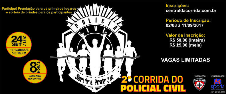 2ª CORRIDA DO POLICIAL CIVIL DE MS