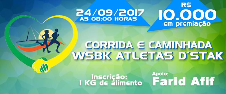 Corrida e Caminhada WSBK Atletas D'Stak