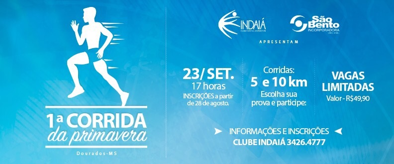 1ª CORRIDA DA PRIMAVERA Clube Indaiá