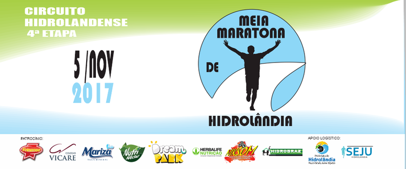 MEIA MARATONA - CIRCUITO HIDROLANDENSE ETAPA 4